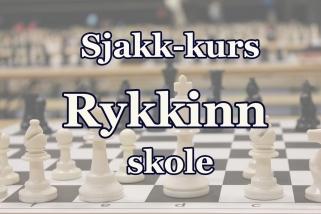 Sjakkurs Rykkinn Skole