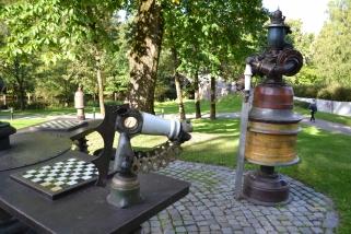 Sjakk og kos i Løkkehaven