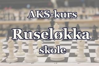 sjakk-kurs ruseløkka AKS