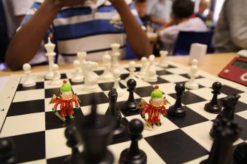 sjakkturnering for barn