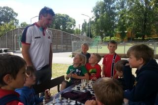 Sjakkleir i sommerferien