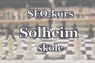 sjakk-kurs Solheim SFO